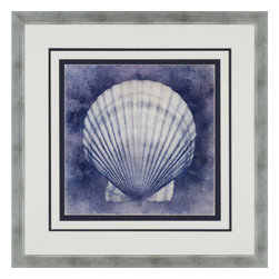 Paragon - Ocean Blue II - Framed Art - Each product is custom made upon order so there might be small variations from the picture displayed. No two pieces are exactly alike.