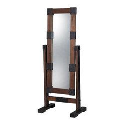 Sterling Industries - Sterling Industries 51-10011 Free Standing Industrial Dressing Mirror - Mirror (1)