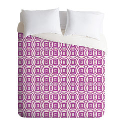 DENY Designs - Khristian A Howell Desert Twilight 12 Duvet Cover - Turn your basic, boring down comforter into the super stylish focal point of your bedroom. Our Luxe Duvet is made from a heavy-weight luxurious woven polyester with a 50% cotton/50% polyester cream bottom. It also includes a hidden zipper with interior corner ties to secure your comforter. it's comfy, fade-resistant, and custom printed for each and every customer.