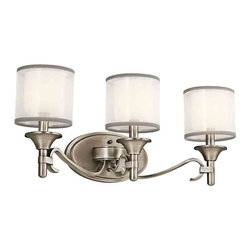 Kichler Lighting - Kichler Lighting 45283 Lacey 3 Light Vanity - 3, 60W Candelabra
