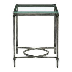 Bernhardt Interiors - Bernhardt Interiors Palmer Metal End Table 320-121/320-121G - Bernhardt Interiors Palmer Metal End Table 320-121/320-121G.