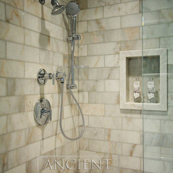 Antique Carrara marble Floors - Images provided by 'Ancient Surfaces'
