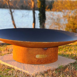 """Fire Pit Art Asia 60"""" Wood Burning Fire Pit -"""