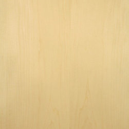 Premium Flat Cut Maple Veneer - Premium Maple veneer, sometimes referred to as white Maple, is tight grain and fine texture white to very light shades of tan in color. Available in a variety of backers and sizes.