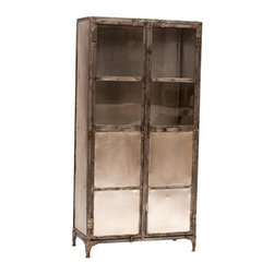 Element Cabinet - This cabinet will add industrial vintage modern character to any room in your home, but personally, I love it for an office. Or perhaps for my favorite stilettos in my closet...
