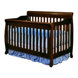 Athena - Athena Alice 3 in 1 Convertible Crib - Espresso - 4689E - Shop for Cribs from Hayneedle.com! It's a good thing that the clean lines and soft curves of the Athena Alice 3 in 1 Convertible Crib - Espresso aren't going out of style anytime soon because this adjustable crib is ready to be the center of your nursery for years to come. With a four-position adjustable mattress support and the ability to change quickly into a toddler daybed or full-sized bed you won't need to make costly or time-consuming furniture changes every other year. The dark espresso finish will complement any nursery decor and all the pieces that you need to make the conversions are included. The solid hardwood body is finished in a glossy non-toxic espresso finish. About AFG AFG might not be the biggest company in the world but for over two decades they have been striving to be one of the best. While other crib designers focus on fashionable designs and aesthetic features AFG dedicates the majority of its resources toward quality assurance consumer safety and customer satisfaction. AFG is an American-owned family business and supervises every single step of its manufacturing process ensuring the best and most environmentally friendly overseas production facilities. AFG believes in social responsibility by making certain that all AFG baby products use sustainable wood and by being a major contributor to nonprofit action groups such as The Compassion & Relief Foundation and the Green World Campaign.