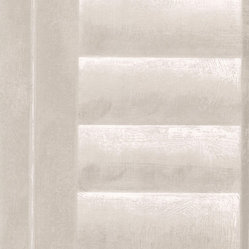 Distressed Windows Wallpaper - Linen
