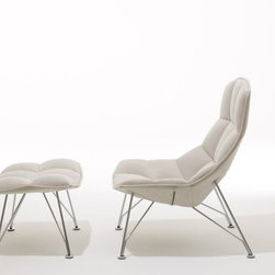 Jehs + Laub Lounge Chair - noll Designed by Markus Jehs and Jurgen Laub, 2008 Authentic Knoll Legacy product.