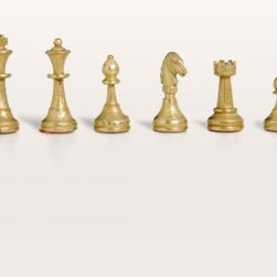 Florentine Brass & Silver Chess Pieces - Bring timeless Italian style into your home with the Florentine Brass & Silver Chess Pieces. These one-of-a-kind pieces have been crafted from solid cast metal giving them an appealing weight. They boast contrasting brass and silver finishes for a sophisticated unique look. These pieces are made to stand the test of time and are a terrific value at this price. If you're looking for quality chess pieces with some weight to them this set is for you. It has been beautifully crafted in Italy. About Cambor GamesNew Jersey-based Cambor Games has spent the last 40 years developing product lines to address a variety of classic gaming needs. The company offers chess sets backgammon boards poker equipment dominoes mahjong tiles and more. From traditional designs to novelty themed items value-priced beginner sets to high-end collectors' dreams Cambor Games has the game equipment you need to have years of fun with close friends or bitter rivals.