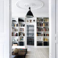 Contemporary Family Room by Gestalten