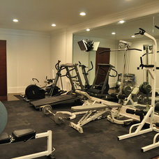 Contemporary Home Gym by Direct Build Home Improvement & More