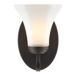 Golden Lighting - RBZ-OP Accurian RBZ Bath - 1 Light Wall Sconce