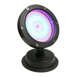Alpine - 144 LED Super Bright Color Changing Light - Plastic - Illuminate your house, driveway, garden or walkways with one of Alpine quality built LED lights. All equiped with Super Bright White LED's.Features: