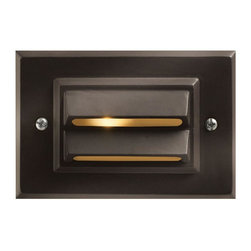Hinkley - Hinkley One Light Bronze Deck Light - 1546BZ-LED - This One Light Deck Light is part of the Led Deck Collection and has a Bronze Finish. It is Outdoor Capable, and LED.