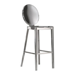 Fine Mod Imports - Polished Modern Counter Chair - Features: