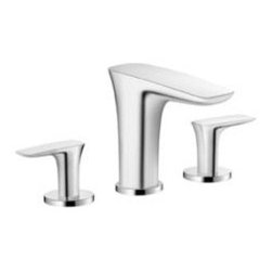 Hansgrohe Bathroom Faucets by Ibathtile - Designed with low-arc to provide a compact look.