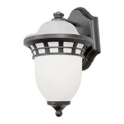 "Trans Globe Lighting - Trans Globe Lighting 5111 BZ Bristol 16"" high Wall Light Bronze - Sail away with Greece coastal outdoor lighting designs from Trans Globe."
