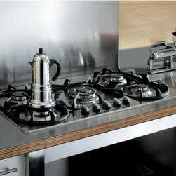 Cooktop - 36 inch Gas Cook Top with 5 Burners, Modular Series by Bertazzoni