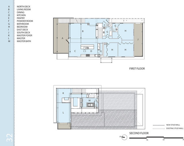 Contemporary Floor Plan by Tongue & Groove