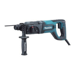 "Makita - Rotary Hammer 15/16 In - Variable speed with 3-Mode operation rotation only, hammering with rotation and hammering only, ergonomic D-shaped handle with rubberized soft grip, accepts SDS-PLUS bits, one touch sliding chuck, built-in torque limiter, 'No hammering when idling' functi  on, extended service life of carbon brushes, recessed lock on button, 40 different bit angle settings. Specs: 7AMP, impact energy is 2.7 ft./lbs., no load BPM is 0-4,500, no load RPM is 0-1,100, capacity in: concrete 1"", steel-1/2"", wood-1-1/4"", 16-7/8"" l  ong, weighs 6.6lbs. Includes: (1) rotary hammer, (1) 360 degree auxiliary handle, (1) depth gauge, (1) carrying case. Includes: (1) rotary hammer, (1) auxiliary handle, (1) depth gauge, (1) plastic tool case.      This item cannot be shipped to APO/FPO addresses.  Please accept our apologies"