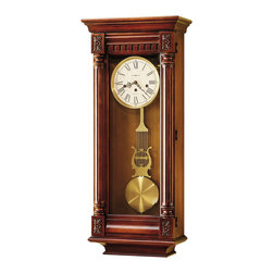 "Howard Miller - Howard Miller 36""Key Wound Westminster Chime Classic Wall Clock 