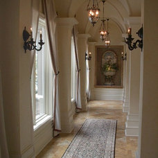 Traditional Entry by Perkins Design Group