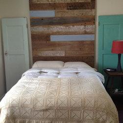 Reclaimed Wood Headboard (tall) -