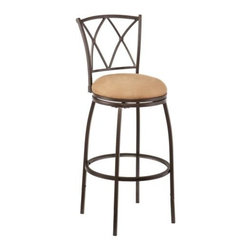 Holly and Martin - Wadsworth Adjustable Counter/Bar Stool - Raise the bar in convenient seating! This adjustable stool is the perfect option for fashionable bar or counter seating.