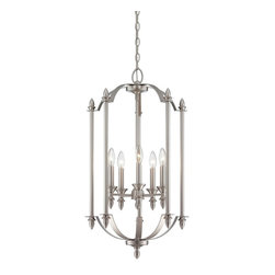Savoy House Lighting - Savoy House Lighting Foyer Transitional Foyer Light X-96-5-1054-3 - Savoy House Foyer lights will bring illumination to any entryway space with a timeless style that you will love for years to come. Choose from pewter or English bronze finishes.