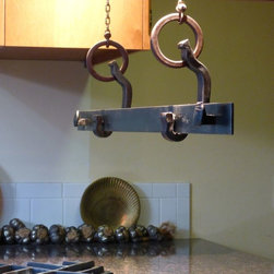 Rail Anchor Pot & Rack - Suspended - www.railroadware.com