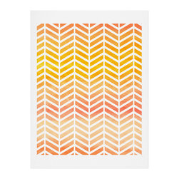 DENY Designs - DENY Designs Rebecca Allen Sunset Bliss Art Print - Finally an affordable wall art option! Order one statement print or live on the edge and dream up an entire gallery wall. And whether you frame it or hang it as-is, your walls will be big on inspiration while being kind on your pocketbook.