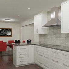 Contemporary Rendering by OakWood Renovation Experts