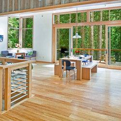 HYBRID / SUITE / ARCADE Strand Woven Bamboo Flooring - Honey - Bamboo Hardwoods -