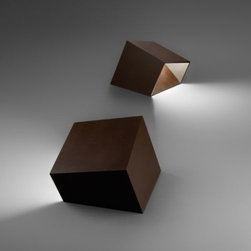 Vibia - Break Pathway Light by Vibia - Offering a compelling reason to not hide your landscape lighting in a fake stone, the Vibia Break Pathway Light architecturally deconstructs the familiar rock formation into a contemporary slab of asymmetric angles. Featuring an acrylic diffuser that can withstand any weather conditions, Break also includes a multi-volt ballast, allowing it to be effortlessly integrated into either residential or commercial environments. Vibia, headquartered in Barcelona, Spain, designs and manufactures modern and contemporary lighting and living accessories. The entire Vibia line features works by prominent designers known for superb European lighting.