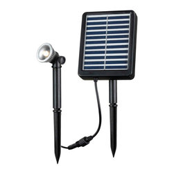 Kenroy Home - Kenroy 60500 Solar Spotlight .5W - Solar Spotlights are ideal for illuminating steps, shrubs, flags, address markers, fountains, statuary and other landscape elements outside of your home or business.