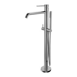 WS Bath Collections - WS Bath Collections Light LIG Tub Filler - Bath/ Shower Mix