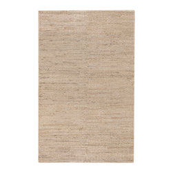"Surya - Surya Tropics TRO-1009 (Natural) 3'6"" x 5'6"" Rug - The casual feel of the South Pacific is the inspiration in this licensed collection from Cabana Joe's Joe O'Brien. Made of jute and wool, these rugs have a unique hand woven herringbone weave, with colors that reflect the island lifestyle."