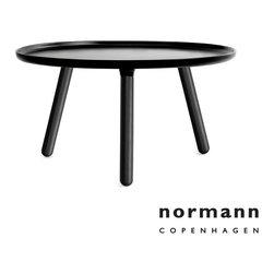 Normann Copenhagen Tablo Table Large Black/Black - Normann Copenhagen Tablo Table Large Black/Black