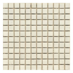 White Marble Tumbled Mosaic Tiles - White Marble Tumbled 1 in. x 1 in. Made from the highest quality premium white marble is strictly selected, consistent in color, sizing and finish. Suitable for commercial and residential projects (Interior as well as exterior surface covering applications) Meets your needs at a very low cost.