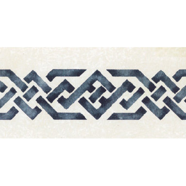 """Stencil Ease - Roman Motif Stencil - Roman Motif Home Decor Stencil European Classic Stencil Contains: 1 - 6"""" x 18"""" stencil sheet Actual size: 3"""" high x 8.5 wide. European Classic Stencils are simple one part stencils. Wonderful for the beginning stenciler using one color as well as the more experienced artisan. The design shown here was stenciled using a stippling technique on a Faux Finish background. This design was painted using the following Spill Proof stencil paint colors: MSP01024 NavyComplete kit comes with stencil paint and 1 TTHW0006 3/8"""" stencil brush."""