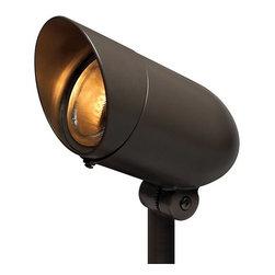 Hinkley Lighting - Hinkley Lighting 54000-LED60 120v 7w 60 Degree LED Line Voltage Outdoor Spot Lig - Hinkley Landscape Lighting 54000-LED60 Line Voltage LEDOutdoor 60°Accent LightEmbellish your yard with this contemporary styled outdoor LED flood light.Hinkley Lighting 54000-LED60 Features: