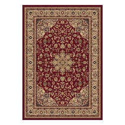 "Dynamic Rugs - Dynamic Shiraz 51010-2100 Red 9'2"" x 12'10"" Area Rugs - Dynamic Shiraz 51010-2100 Red 9'2"" x 12'10"" Area Rugs"