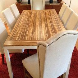 "responde - Custom Dining Space - 84"" x 42"" Sustain Table"