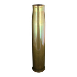DM3 LOS RA - Large Consigned Vintage WWII USA Military Vase Obus - Product Details