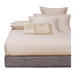 Howard Elliott - Coco Slate Queen Boxspring Cover - The boxspring cover works as a fitted bed skirt. Slate gray cover provides the perfect base for your fits most standard size boxspring mattresses.