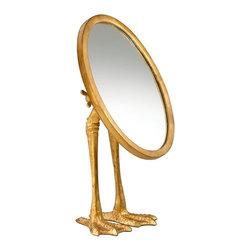 Cyan Design - Cyan Design 03098 Duck Leg Mirror - Cyan Design 03098 Duck Leg Mirror
