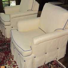 Traditional Armchairs And Accent Chairs by Pamela Foster & Associates, Inc.