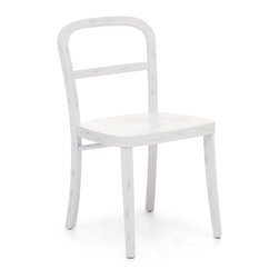 ZUO ERA - Fillmore Chair Antique White (set of 2) - Style doesn't have to mean grandiose. This understated solid elm chair may be minimalistic but it's got character. It's sturdy, good-looking and comes in three different finishes. Sometimes simple is best.
