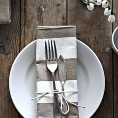 traditional table linens by abeachcottageshop.com