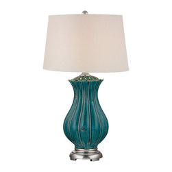 Dimond Lighting - Dimond Lighting D2453 Pewsey 1 Light Table Lamp - Features: